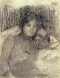 Young woman resting