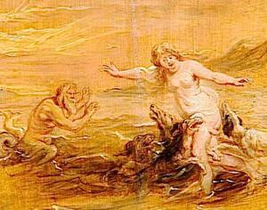 Glaucus en Scylla (Ovidius, Metamorfosen, XIV, 1-74)