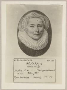 Portret van Adriaentje Rosecrans (1576-1657)