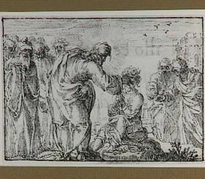 Christus geneest een doofstomme (Effatha) (Marcus 7:32-35)