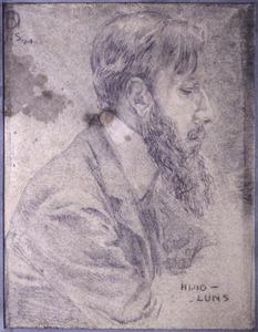 Portret van Huib Luns (1881-1942)