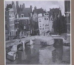 Rokin bij de Langebrugsteeg te Amsterdam
