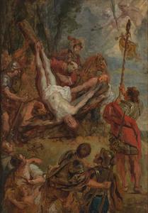 Het martelaarschap van de Heilige Petrus