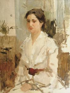 Portret van Adriana Anna Polak Daniels (1871-1945)