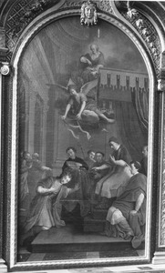 De priesterwijding van de H. Hubertus