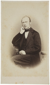 Portret van Philip Maurits van der Haer (1815-1888)
