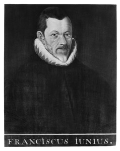 Portret van Franciscus Junius (1545-1602)