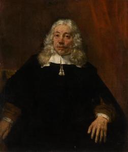 Portret van man met witte haren