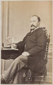Portret van Coenraad Willem Antoni Buma (1837-1888)