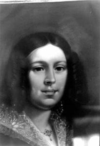 Portret van Elisabeth Margaretha Verweij (1811-1886)