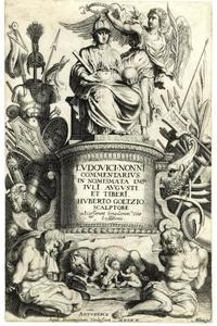 Titelpagina voor J. De Bie, Nomismata Imperatorum Romanorum, Antwerp 1617