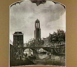 De Gaardbrug in Utrecht vanuit het zuiden