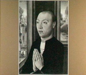 Portret van Ludovico Portinari (op de buitenzijde: wapenschild van de familie Portinari)
