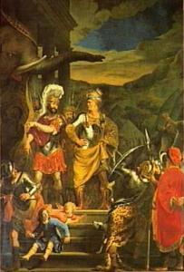Pyrrhus toont Fabritius zijn olifant
