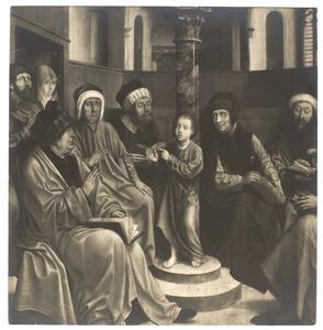 De twaalfjarige Jezus in de tempel