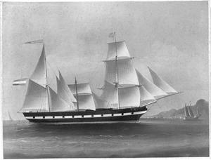 Het barkschip Admiraal Piet Hein