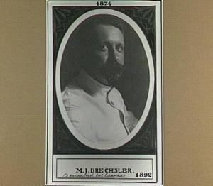 Portret van Marcus Johannes Drechsler