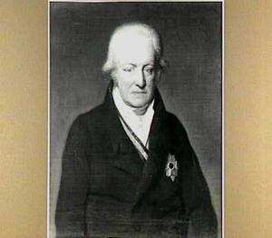 Portret van Willem van Aylva (1751-1827), Opper-Hofmaarschalk van de Koningin