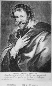 Porrtet van Peter Paul Rubens