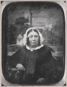 Portret van Wilhelmine Arnoldine Cunaeus (1800-1872)