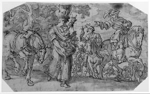 De koning van Perzië en de boerin