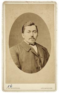 Portret van Hendrik Bosma (1843-1899)