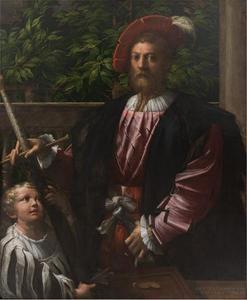 Portret van Lorenzo Cybo (1488-1556)