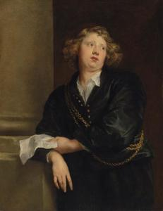Portret van Henricus Liberti (1600-1669), organist van de kathedraal te Antwerpen