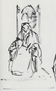 Portret van Ida Wasserman (1901-1977)