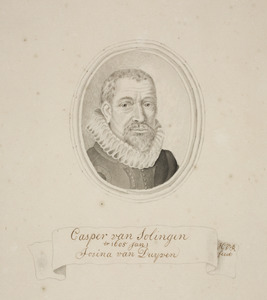 Portret van Caspar van Solingen (1570-1652)