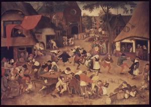 Dorpskermis op het feest van de H. Joris