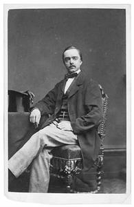 Portret van Jan Carel van Strick van Linschoten (1831-1903)
