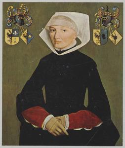 Portret van Frouck van Haerda (..-1584)