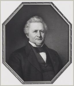 Portret van Gerhard Everts (1811-1886)