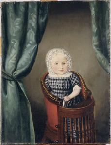 Portret van een kind, mogelijk van Aert van der Goes (1803-1875) en Suzanna Catharina Grada Merkes (1803-1881)