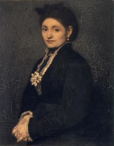 Portret van Hendrika Maris (1841-?)
