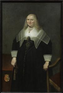 Portret van een vrouw, waarschijnlijk Anna Maria von Reuschenberg