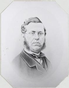 Portret van Ernst Louis van Hardenbroek (1829-1877)