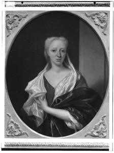 Portret van Cornelia Boddaert ( 1696-1757)