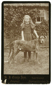 Portret van Maria Martha Bosma (1891-1987)