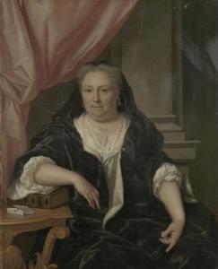 Portret van Maria van Citters (1684-1752)