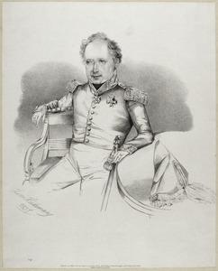 Portret van Evert Ludolf van Heeckeren van Walien (1784-1838)