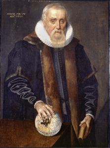 Portret van Ubbo Emmius