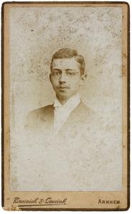 Portret van Reinder Hendrik Bouricius (1876-1902)
