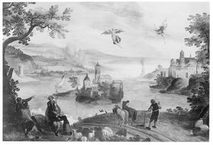 Landschap met de val van Icarus