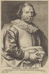Portret van Johannes van Mildert (1588-1638)