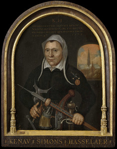 Portret van Kenau Simonsdochter Hasselaer (1526-?)