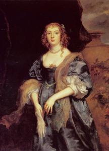 Portret van Anne Carr, Lady Russell, gravin van Bedford (1619-1684)