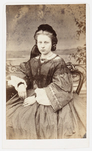 Portret van Margaretha de Kok (1841-1914)