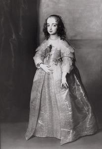 Portret van Maria Stuart (1631-1661)